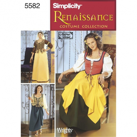 5582 simplicity costumes pattern 5582 envelope fro