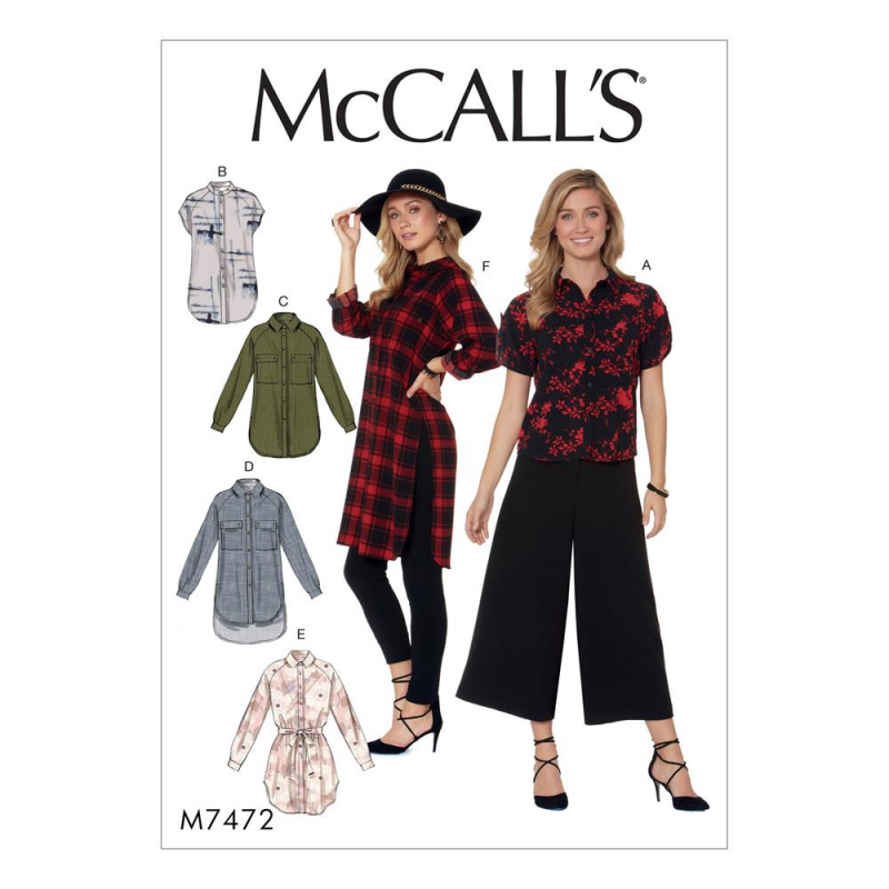 Wykrój McCall's M7472