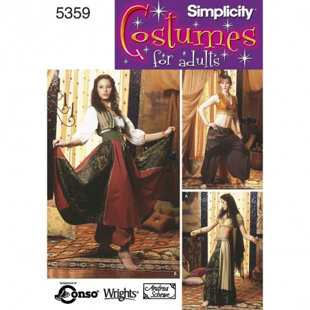 5359 simplicity costumes pattern 5359 envelope fro