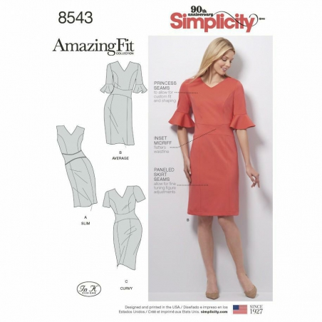 8543 envelope front Simplicity w outlettkanin