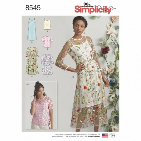 8545 envelope front Simplicity w outlettkanin