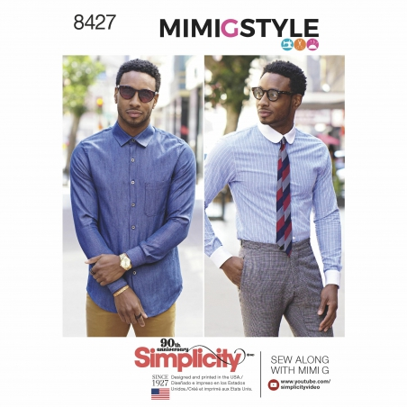 9simplicity fitted shirt mimigstyle mimig mens