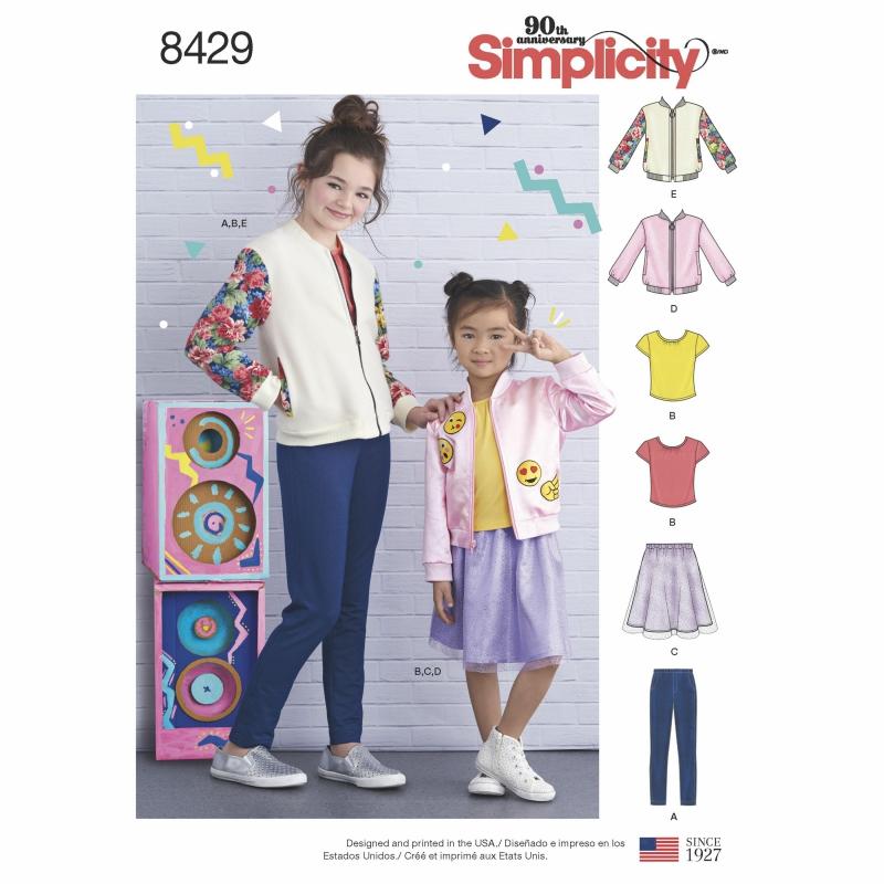 Wykrój Simplicity 8429