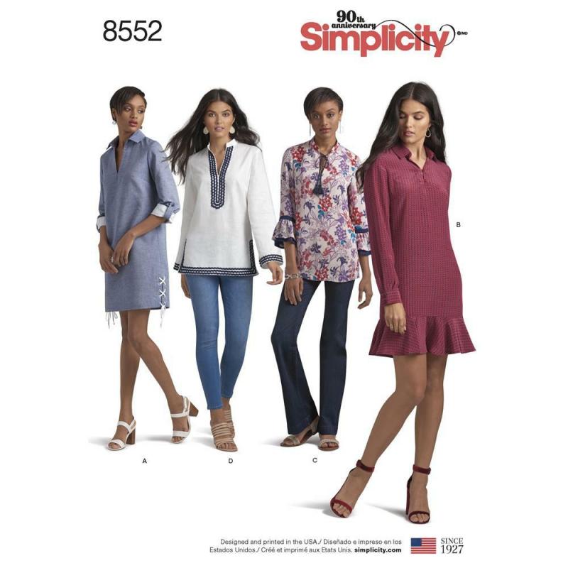 Wykrój Simplicity 8552