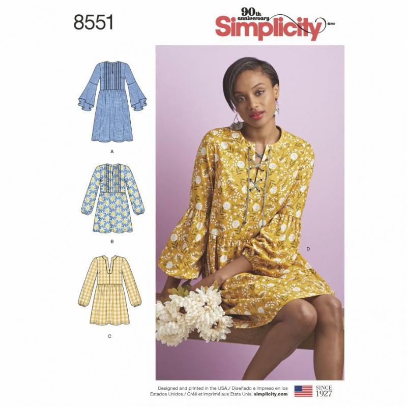Wykrój Simplicity 8551