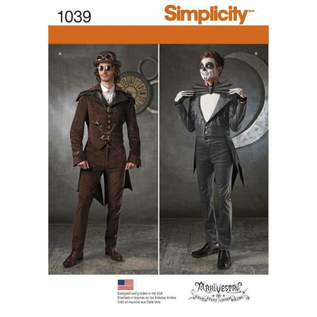 1039 simplicity costumes pattern 1039 envelope fro