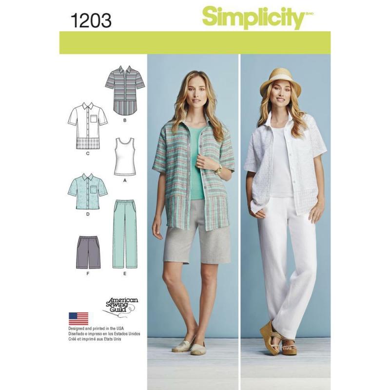 Wykrój Simplicity 1203