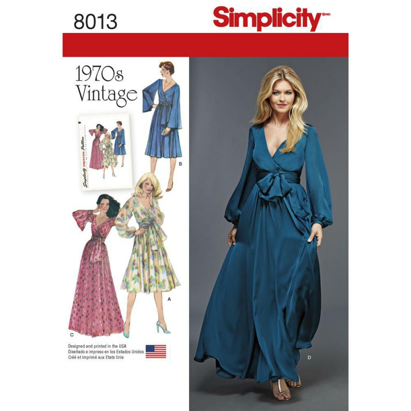 Wykrój Simplicity 8013