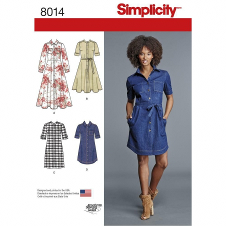 8014 simplicity dresses pattern 8014 envelope fron
