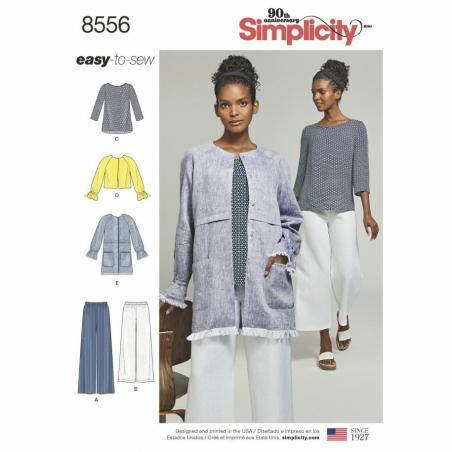 8556 envelope front Simplicity