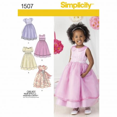 simplicity babies toddlers pattern 1507 envelo