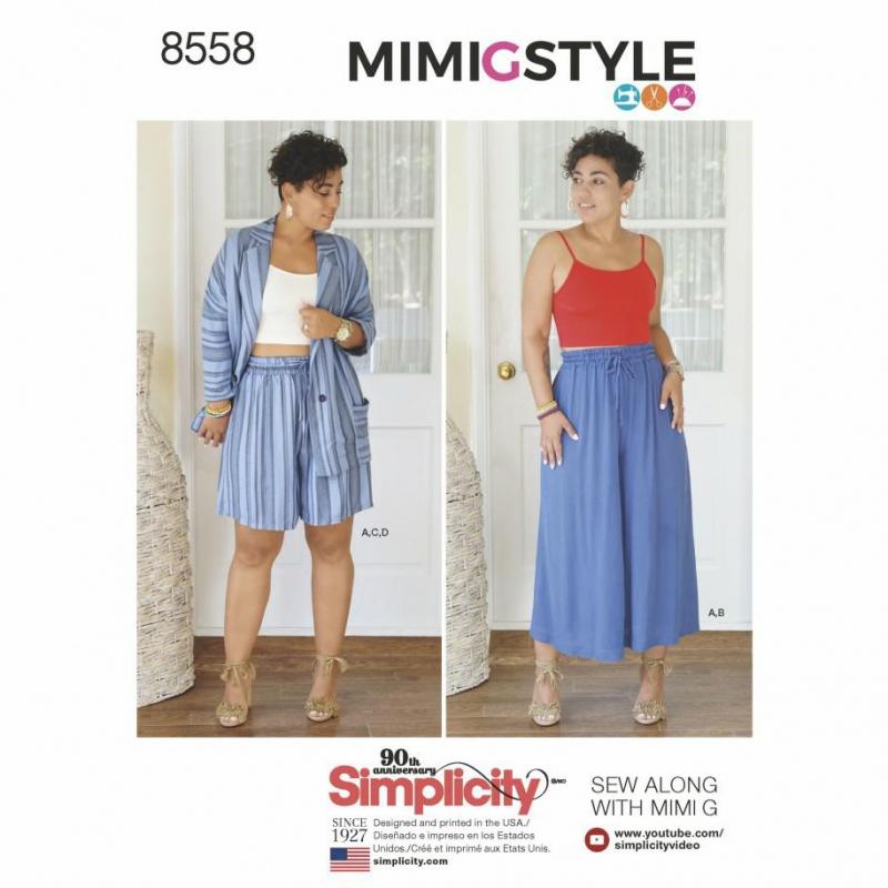 Wykrój Simplicity 8558