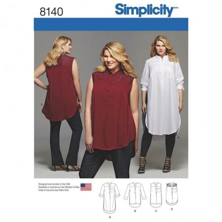 8140 simplicity plus sizes pattern 8140 envelope f