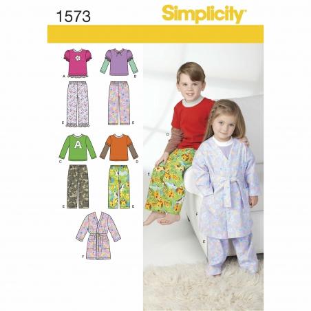 simplicity babies toddlers pattern 1573 envelo