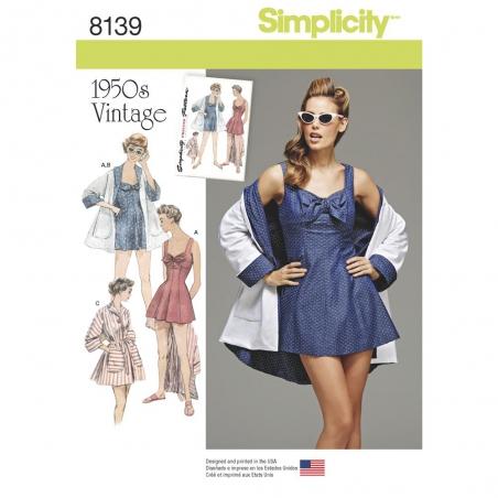 8139 simplicity sportswear pattern 8139 envelope f