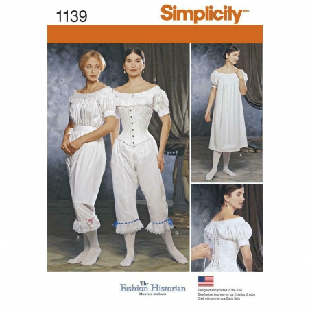 1139 simplicity costumes pattern 1139 envelope fro