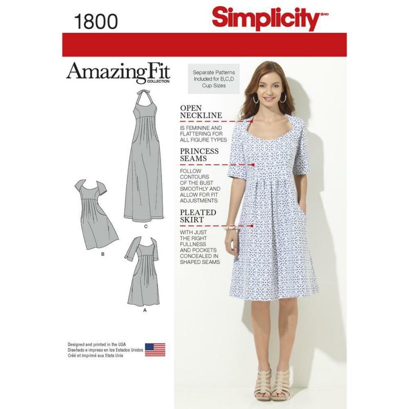 Wykrój Simplicity 1800