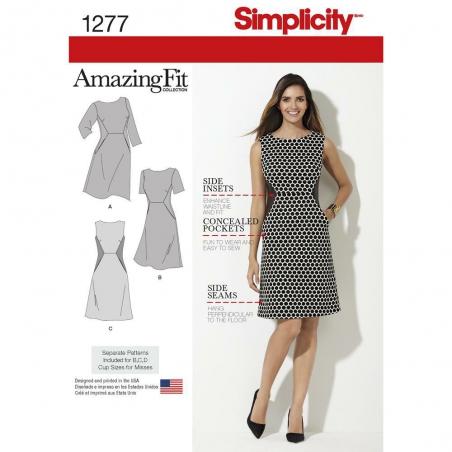 1277 simplicity dresses pattern 1277 envelope fron