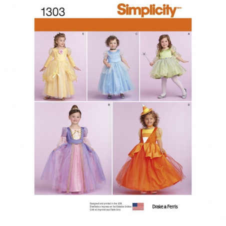 1303 simplicity costumes pattern 1303 envelope fro