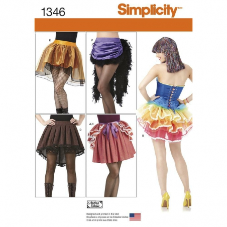 1346 simplicity costumes pattern 1346 envelope fro
