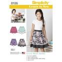 Wykrój Simplicity 8106