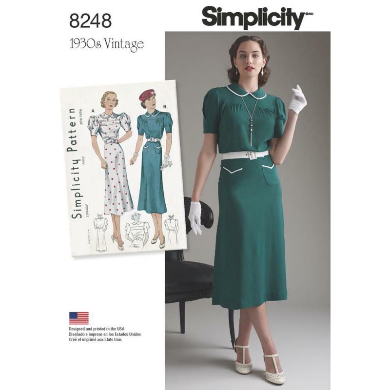 Wykrój Simplicity 8248