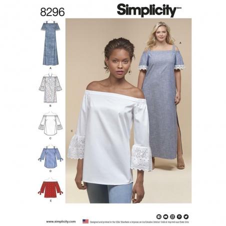 8296 simplicity top vest pattern 8296 envelope fro
