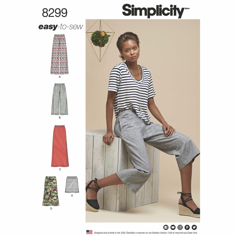 Wykrój Simplicity 8299