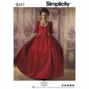 Wykrój Simplicity 8411