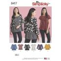 Wykrój Simplicity 8417