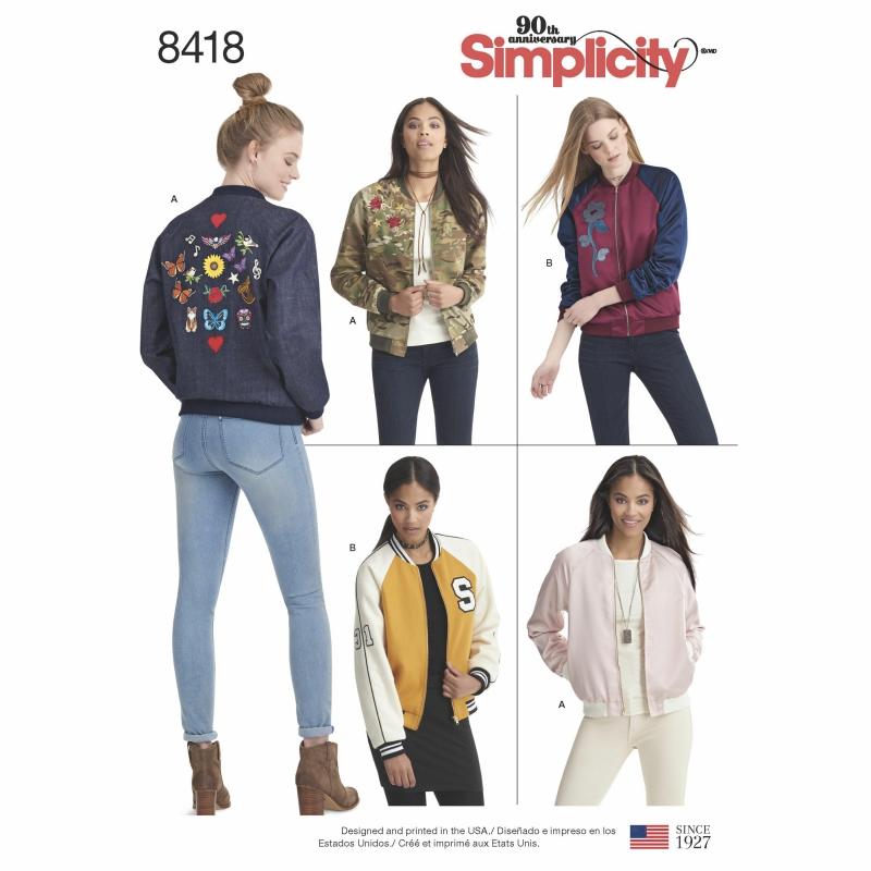 Wykrój Simplicity 8418