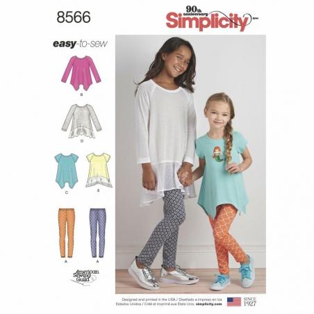 8566 envelope front Simplicity