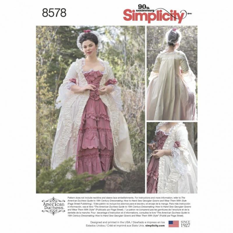 Wykrój Simplicity 8578