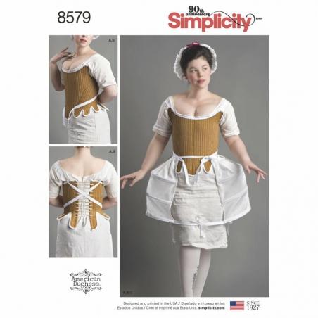 8579 envelope front Simplicity