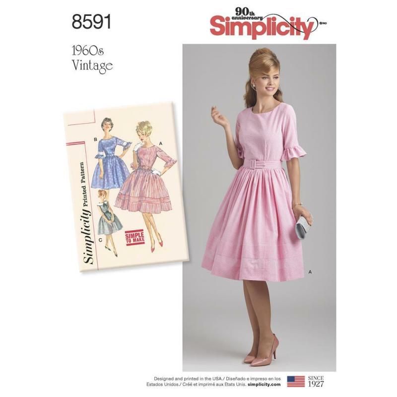 Wykrój Simplicity 8591