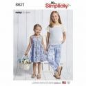 Wykrój Simplicity 8621