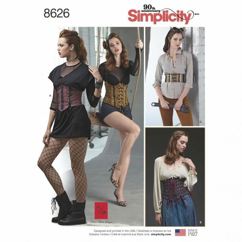 Wykrój Simplicity 8626