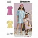 Wykrój Simplicity 8663