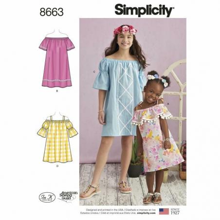 Simplicity 8663 envelope front