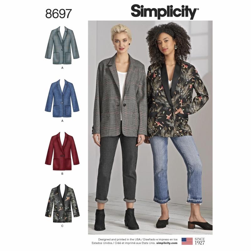 Wykrój Simplicity 8697