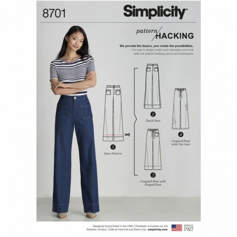 Wykrój Simplicity 8701