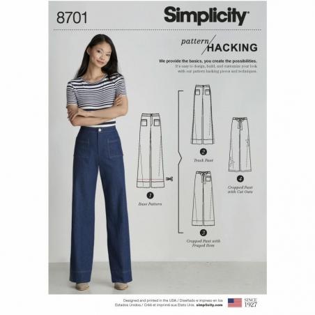 Simplicity 8701 envelope front