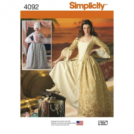 4092 simplicity costumes pattern 4092 envelope fro