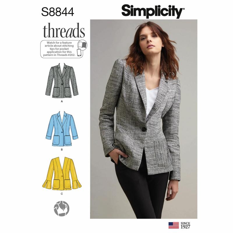 Wykrój Simplicity 8844