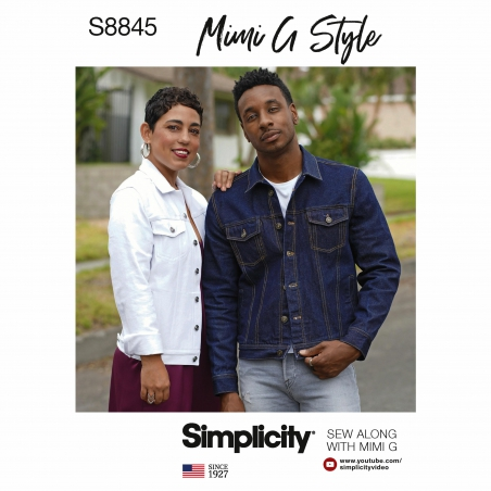 simplicity mimi g denim pattern s8845