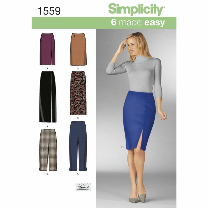 Wykrój Simplicity 1559