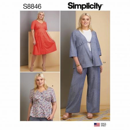simplicity epattern s8846
