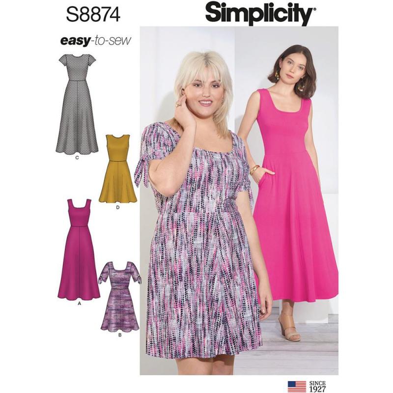 Wykrój Simplicity 8874