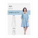 Wykrój Simplicity 8910