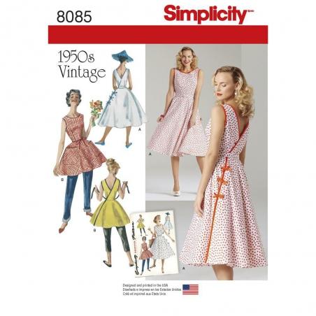 8085 simplicity dresses pattern 8085 envelope fron